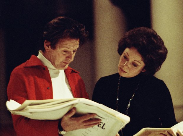 Neville Marriner Sheila Armstrong conductor soprano