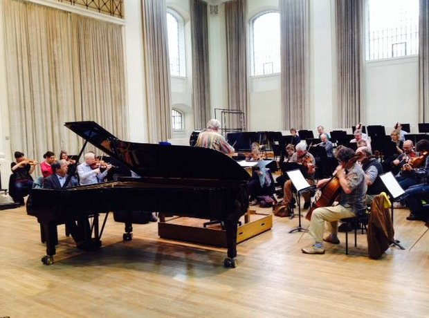 Marriner Perahia Rehearsal Henry Wood Hall Academy Martin Fields