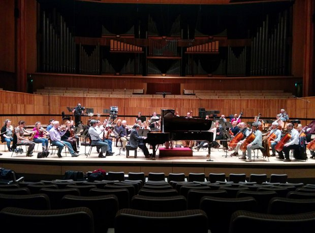 Neville Marriner Murray Perahia Festival Hall Academy Martin Fields
