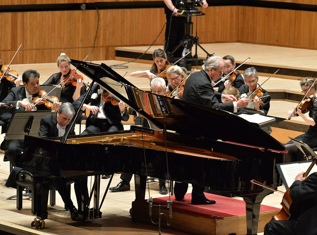 Neville Marriner Murray Perahia Royal Festival Hall Academy St Martin Fields