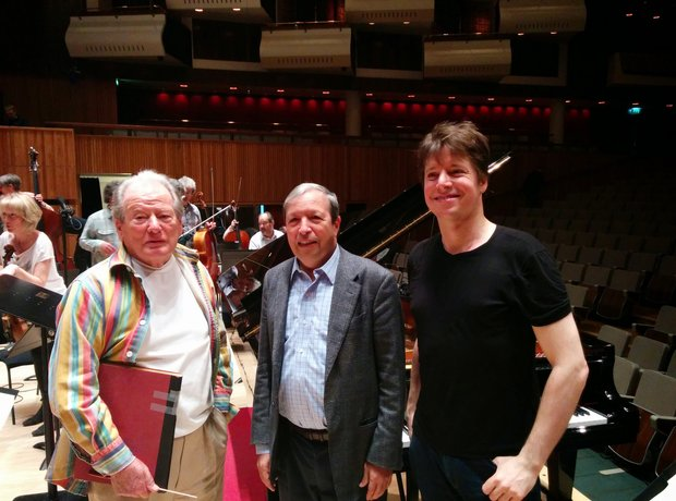 Neville Marriner 90th birthday concert Murray Perahia Joshua Bell