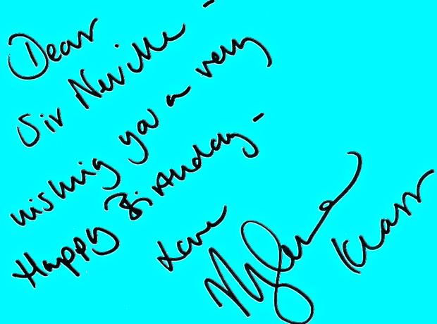 Happy birthday sir neville marriner from classic fms presenters 2 from myleene klass m4hsunfo