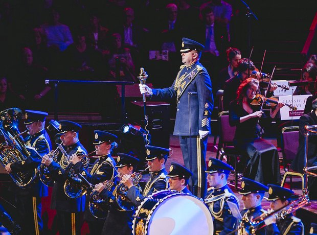 Central Band of the Royal Air Force at Classic FM