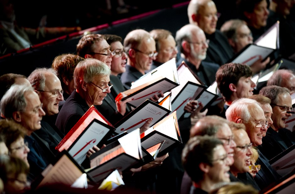 Crouch End Festival Chorus at Classic FM Live 2014