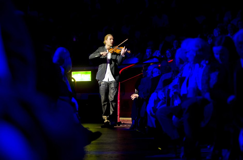 David Garret at Classic FM Live 2014