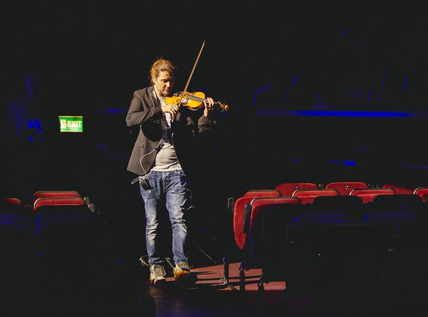 David Garrett Classic FM Live 2014 rehearsals