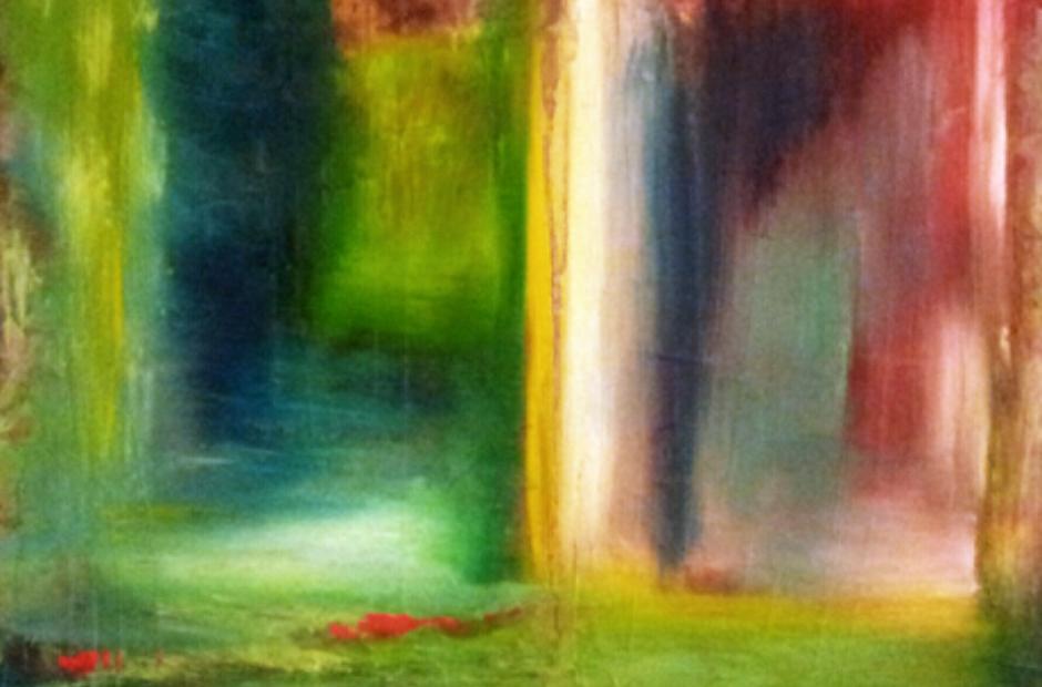 Luz Ingrid Fliter painting