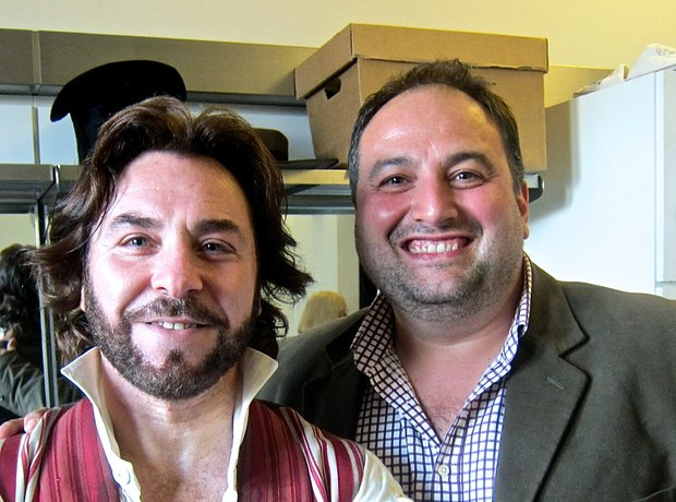 Wynne Evans Roberto Alagna Royal Opera House