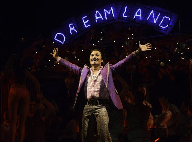 Jon Jon Briones The Engineer Miss Saigon London 2014
