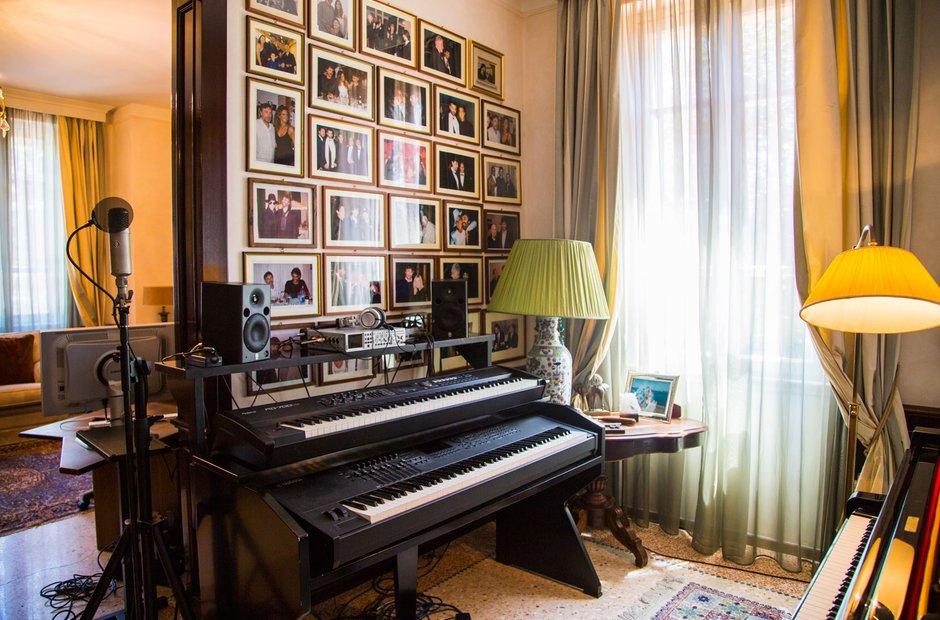 Andrea Bocelli's house