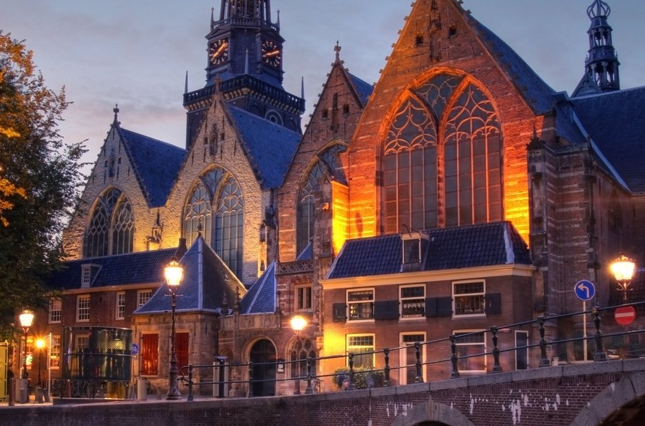 Amsterdam classical music venues Oudekerk old church