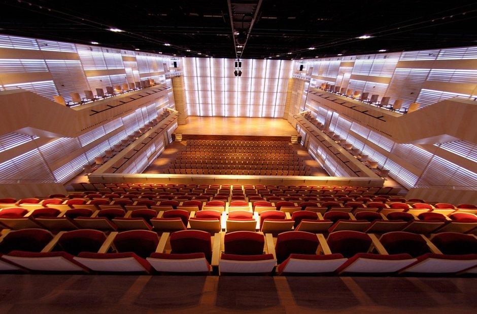 Amsterdam classical music venues muziekgebouw