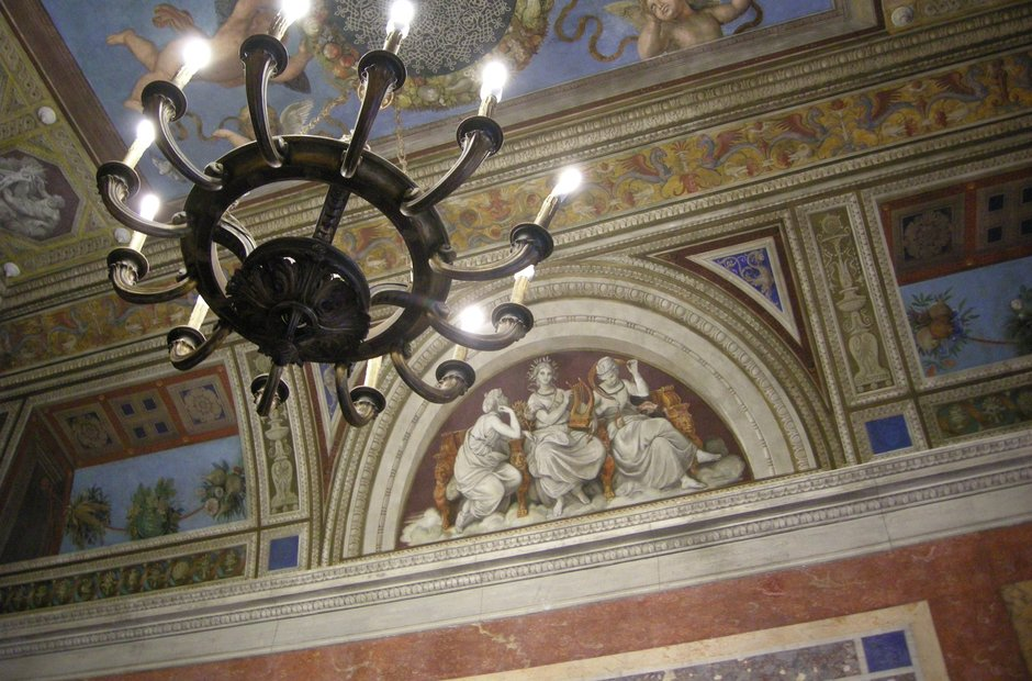 Rome city musical venues Villa Farnesina