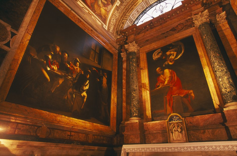 Rome city musical venues Caravaggio
