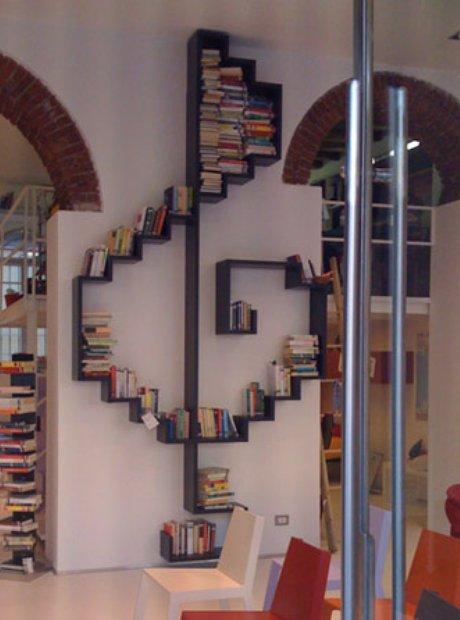 3. Treble Clef Bookcase