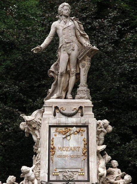 Vienna Mozart monument Getty