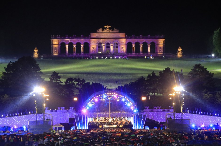 Vienna Philharmonic Schonbrunn Palace open air