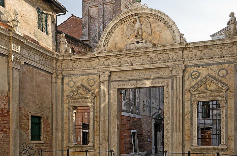 La Scuola Grande di San Giovanni Evangelista Venice