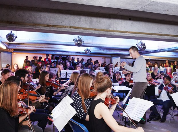 The Multi-Story Orchestra in a Peckham Car Park