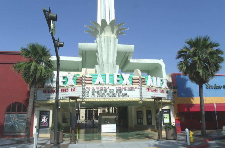 alex theater glendale california