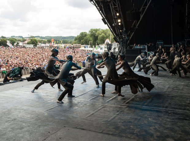 English National Ballet at Glastonbury 2014