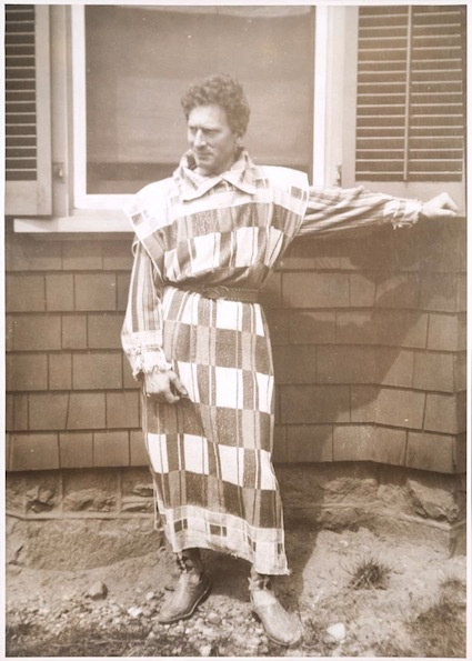 Percy Grainger towelling clothes
