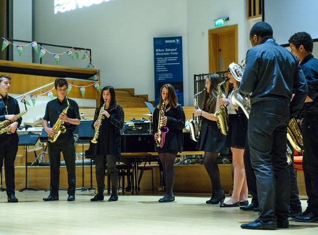 Centre for Young Musicians Saxophone Ensemble