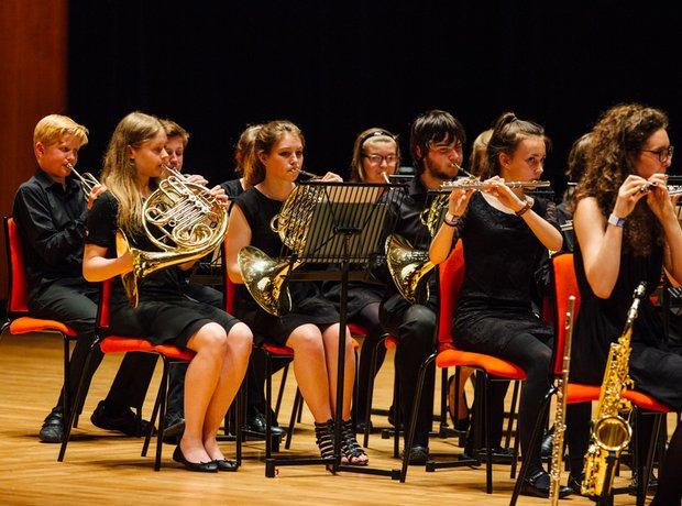 Crompton House School Senior Wind Band