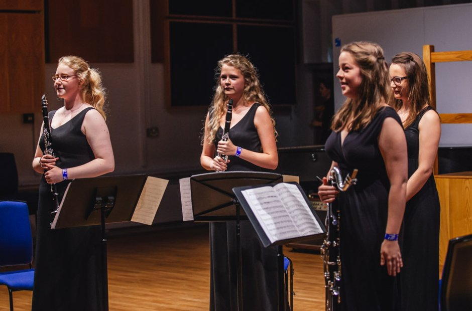 High Wycombe Music Centre Klosé Clarinet Quartet