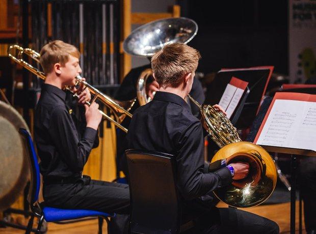 John Cleveland College Brass Quintet