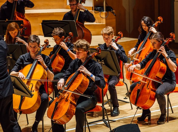 North Bedfordshire Youth Chamber Orchestra Strings