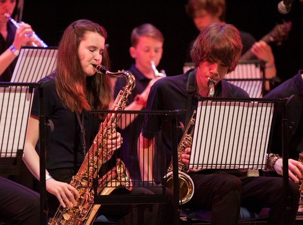 St. Albans Music School Big Band