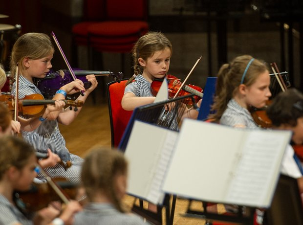 St Mary's Catholic Primary School String Orchestra