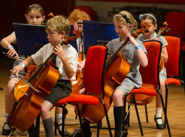 St Mary's Catholic Primary School String Orchestra