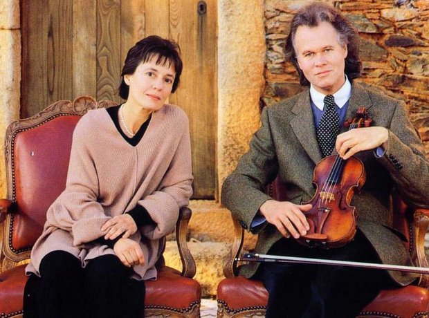 Augustin Dumay Maria Joao Pires violin piano