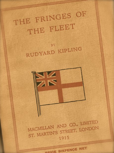 Fringes of the Fleet Kipling Elgar