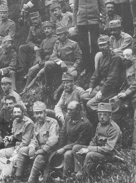 Arnold Schoenberg war Austro-Hungarian army