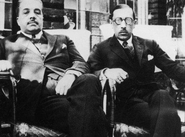 Igor Stravinsky Sergei Diaghilev composer ballet impresario