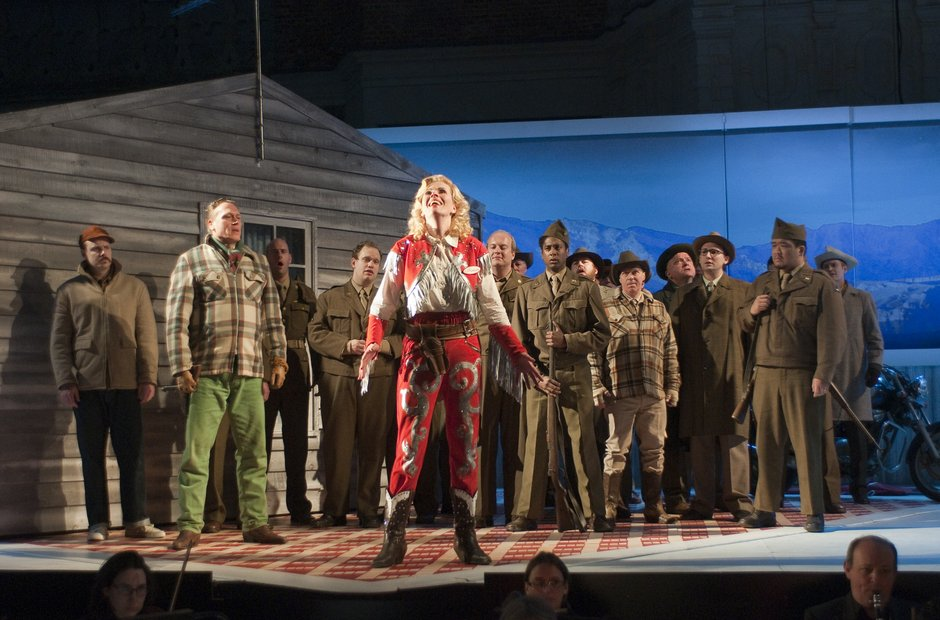 La fanciulla del West opera holland park