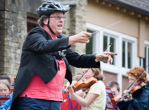 National Children's Orchestra Bicycle Concert