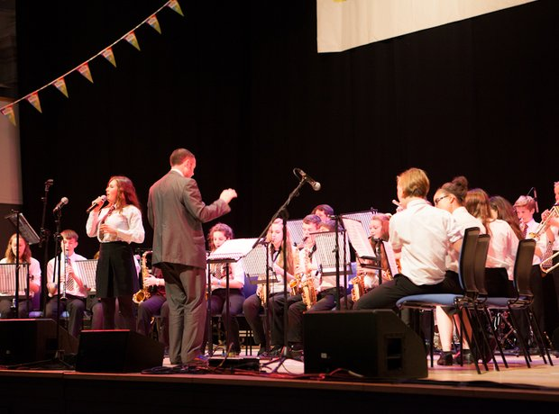 Roundwood Park School Jazz Ground