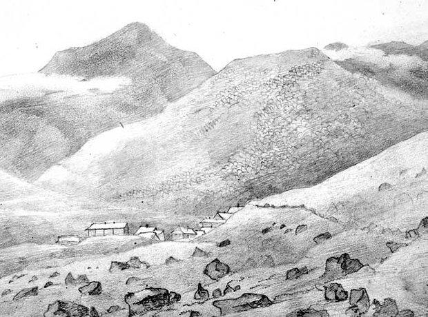 Mendelssohn Scotland sketch Ben More Mull