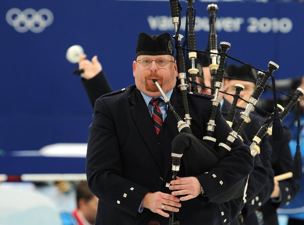 Scotland bagpipes piper