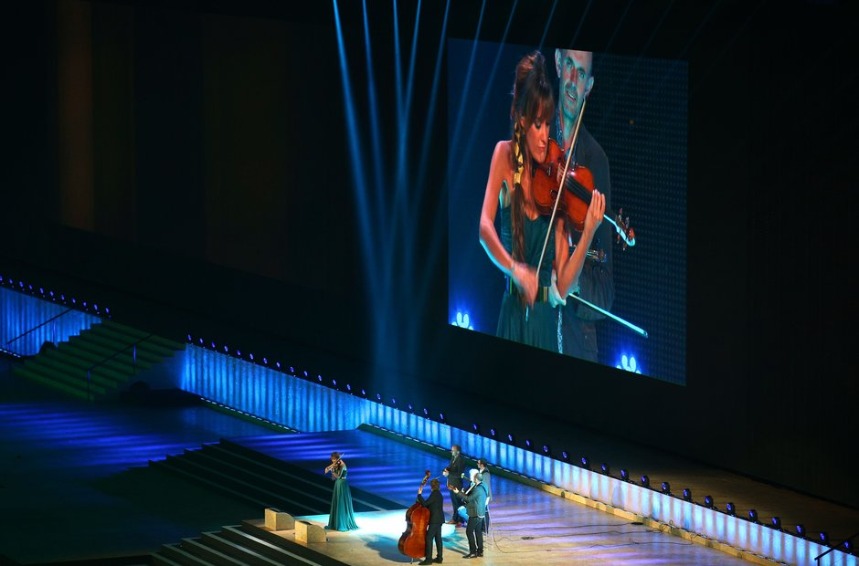 Nicola Benedetti at the Commonwealth Games