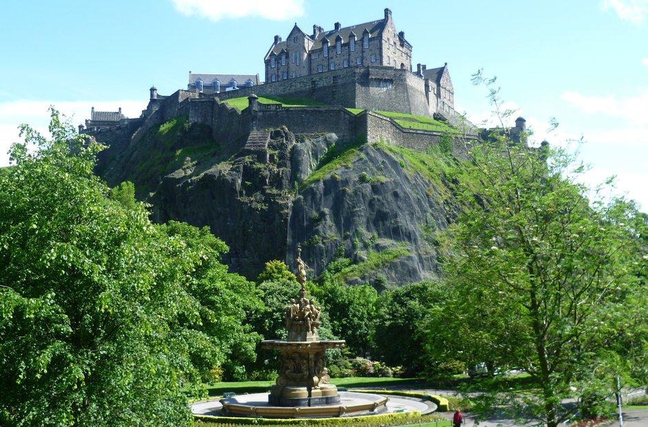 Edinburgh venues Scotland Festival Princes Street Gardens