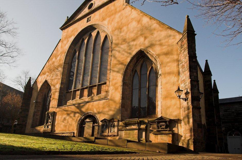 Greyfriars Kirk Edinburgh Festival venues Scotland