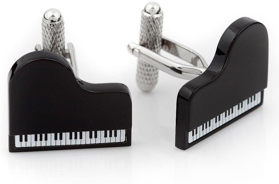 Piano cufflinks