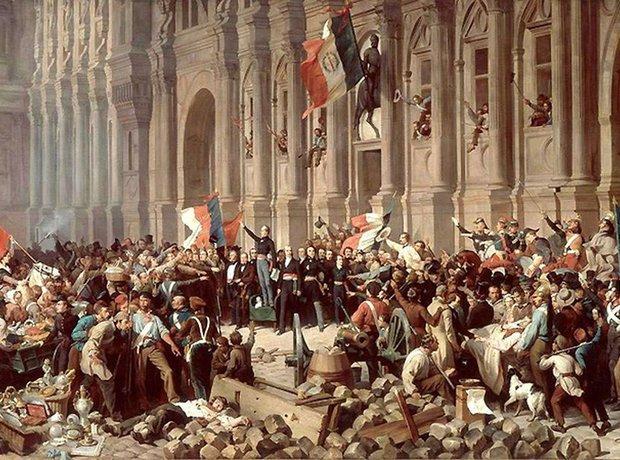Frederic Chopin 1848 February Revolution Paris