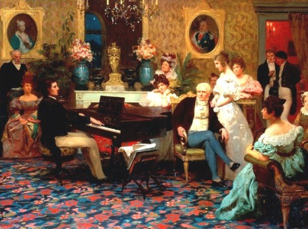 Frederic Chopin pianist composer house concert