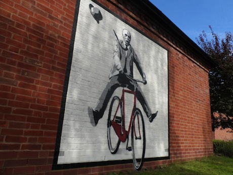 Elgar bicycle bike art